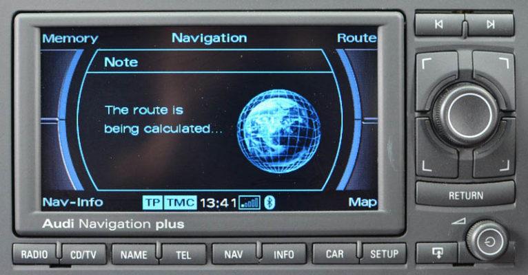 Audi-RNS-E не приема диска